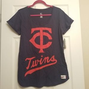 NWT Nike Cooperstown Minnesota Twins Shirt